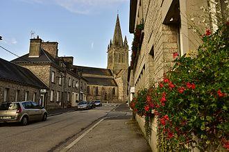 Saint Saviour, Guernsey - Image: Montebourg L'église Saint Jacques