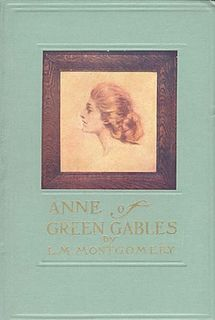 <i>Anne of Green Gables</i> Canadian childrens novel, 1908, first in a series