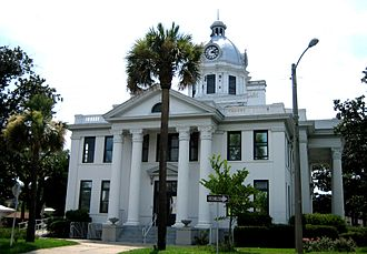 Jefferson County, Florida - Image: Monticello FL Co Court Hs 2009