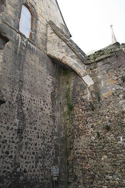 Abbaye de Montivilliers: église abbatiale.