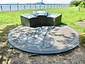 Monument of Fujimae-higata about Ramsar Convention in Inae Park - 1.jpg