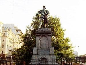 Juan de Garay - Monument to Juan de Garay
