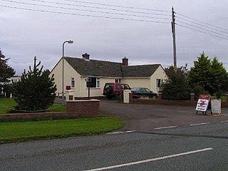 Blitterlees village in United Kingdom