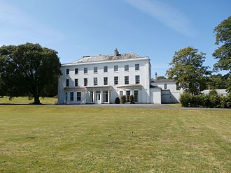 Moreton House, Bideford - Moreton House, Bideford, east front