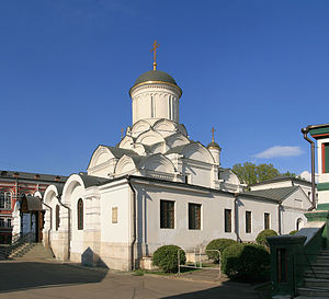 Nativity Convent (Moscow) - Image: Moscow Rozhdestvensky Monastery J02