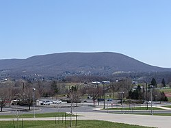 Mount Nittany and College Township as viewed from the Bryce Jordan Center on the campus of Penn State