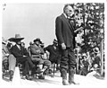 Mount Rushmore National Memorial - President Calvin Coolidge speaking at dedication.jpg