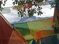 Mountains and prayer flags (3934612094).jpg