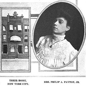 Philip A. Payton Jr. - Maggie Payton and 13 West 131st Street, their home in Harlem