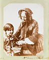 Mrs Vivian and little Ernest (4095825678).jpg