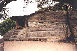 The Domain, Sydney - Mrs Macquarie's Chair was created in 1816.