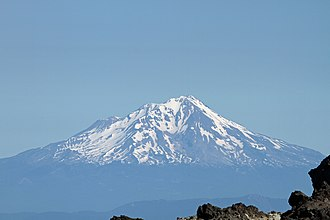 Shasta people - Mount Shasta is a prominent landmark among the Siskiyou Mountains and has cultural significance for the Shasta.