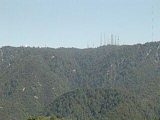 Mount Wilson (California) mountain in California, USA