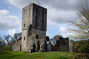 Strathblane - Mugdock Castle was the stronghold of the Clan Graham.