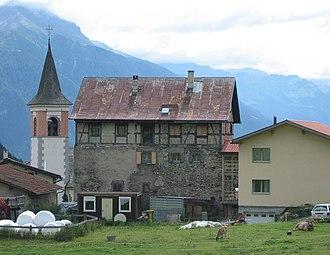 Vaz/Obervaz - House in Muldain village