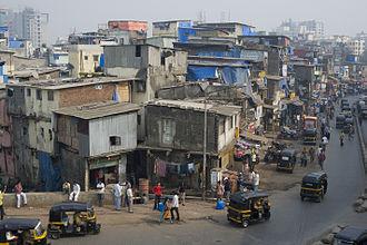 Streetcorner - Life of the people in Mumbai