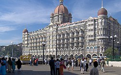The Taj hotel in Mumbai.