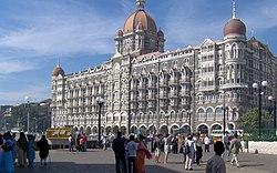 The Taj hotel in Mumbai.