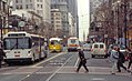 Muni route 9 bus on Market at 7th, March 2001.jpg