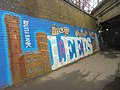 Mural on the towpath by Leeds railway station (14th March 2018) 001.jpg