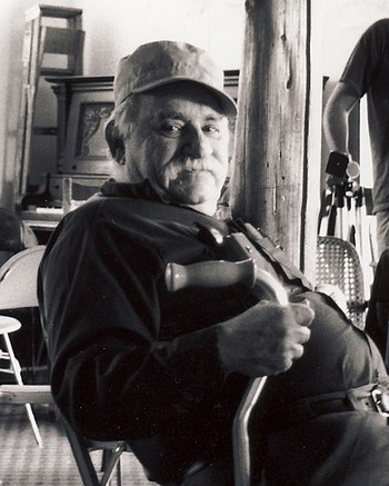 English: portrait of Murray Bookchin