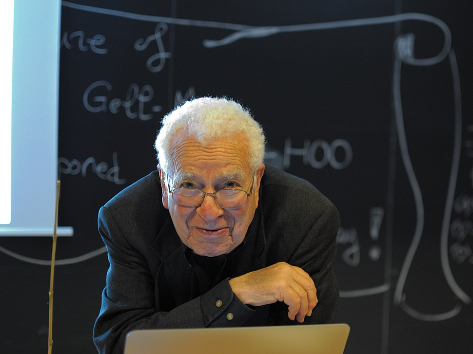 Murray Gell-Mann at Lection