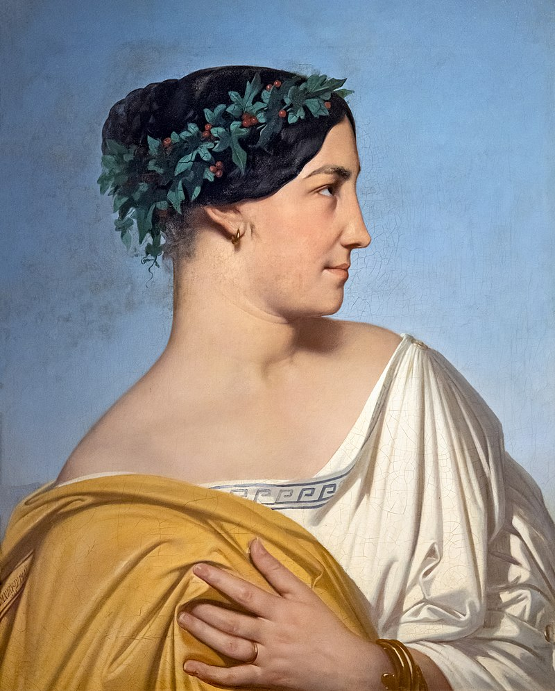 Musée Ingres-Bourdelle - Tête de femme - Ипполит Фландрин - MI.74.3.1 - Joconde06070001768.jpg