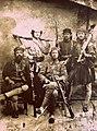 Myftar Butka, Mihal Ballkameno, Thoma Pituli, Spiro Ballkameno, Ghani Butka, 1903.jpg