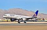 N568UA United Airlines 1992 Boeing 757-222 C-N 26674 (6774261441).jpg
