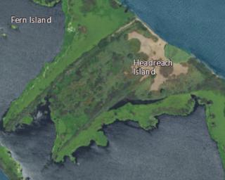 Headreach Island Island in California