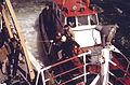 """NEW YORK HARBOR PILOTS TRANSFERRING TO THE NATIONAL OCEANOGRAPHIC AND ATMOSPHERIC ADMINISTRATION SHIP """"FERREL"""" FOR A... - NARA - 555836.jpg"""