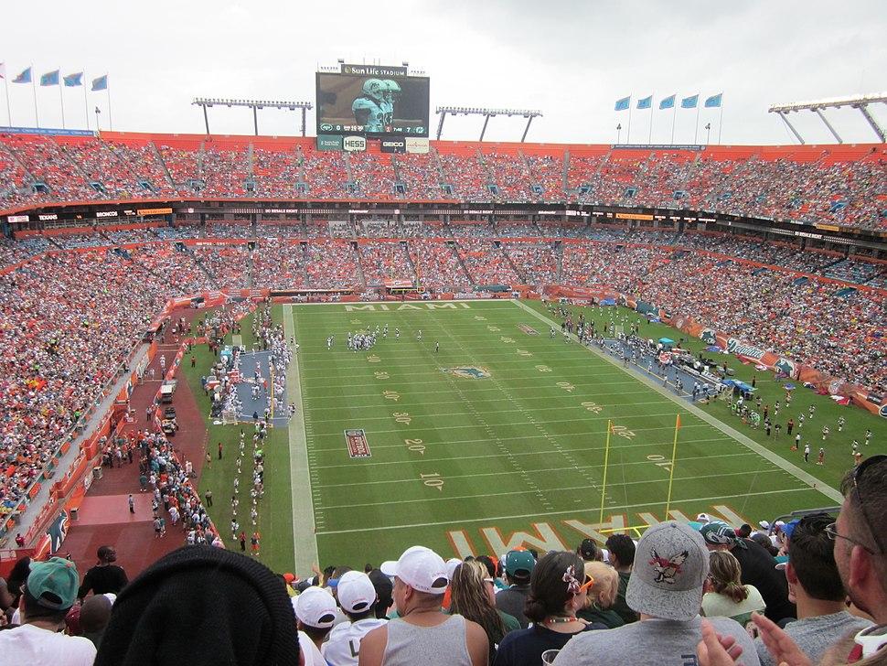 NFL Jets at Dolphins-Sun Life Stadium-2012-09-24