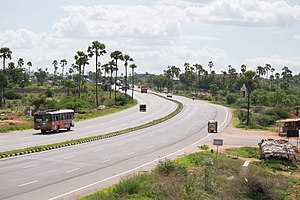 National Highway 65 (India) - National Highway 65 near Ramoji Film City, Hyderabad
