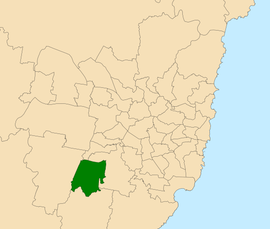 NSW Electoral District 2019 - Macquarie Fields.png