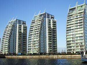 Salford Quays - The NV Buildings