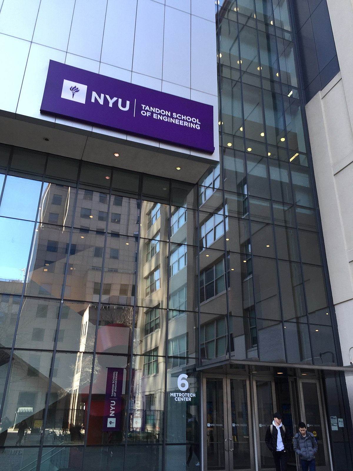 New York University Tandon School of Engineering - Wikipedia