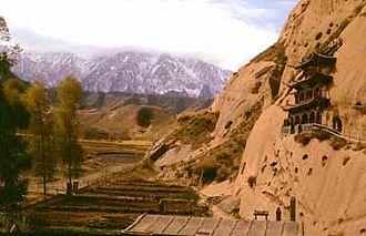 Subei Mongol Autonomous County - The Qilian Mountains in Subei County