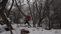 File:Nanos mountain in winter during a Bora's storm.webm