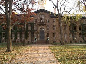 Jeremiah Van Rensselaer - Nassau Hall, at Princeton University (then, the College of New Jersey)