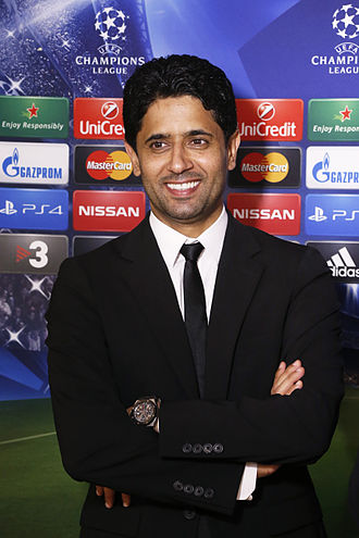 Paris Saint-Germain Handball - Club president Nasser Al-Khelaïfi.