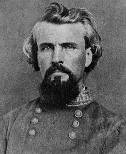 Nathan Bedford Forrest Confederate Army general