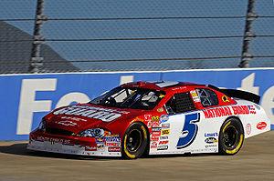 Landon Cassill - 2008 Nationwide car