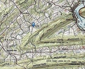 Dellville Pennsylvania Wikipedia - Landscape map of usa