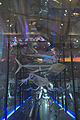 Naturalis Biodiversity Center - Museum - Exhibition Life 14 - Skeletons of fish and large DNA model.jpg