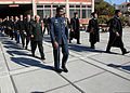 Naval Postgraduate School students walk in formation during a graduation ceremony March 29, 2013, at the school in Monterey, Calif 130329-N-OH194-068.jpg
