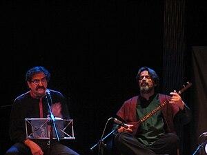 Shahram Nazeri - Nazeri and Hossein Alizadeh concert in Madrid, 2011