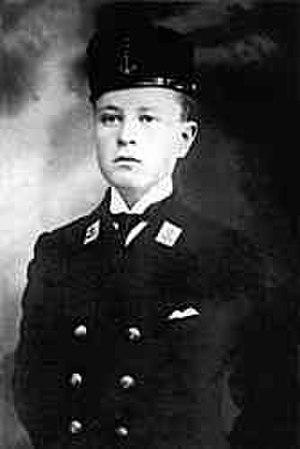 Nâzım Hikmet - Nâzım Hikmet at the age of 15 in 1917.