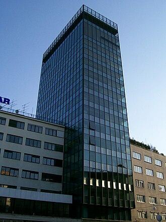 1 Ilica Street - Image: Neboder Ilica Zagreb