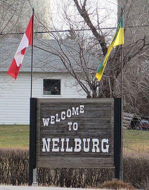 Neilburg - Village sign