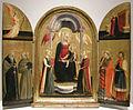 Neri di bicci, trittico della madonna col bambino e santi, 1440 ca.JPG